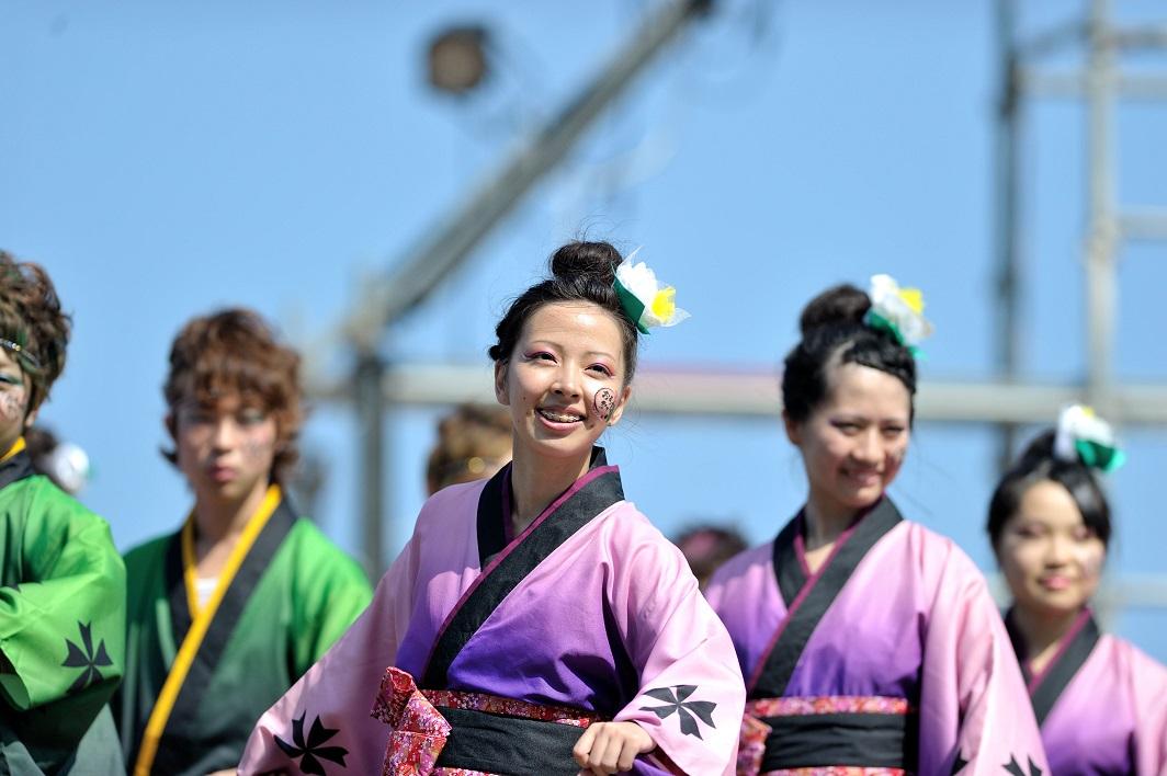 潮風よさこい「静岡大学お茶ノ子祭々」_f0184198_222891.jpg