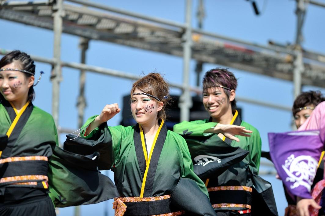 潮風よさこい「静岡大学お茶ノ子祭々」_f0184198_2232391.jpg