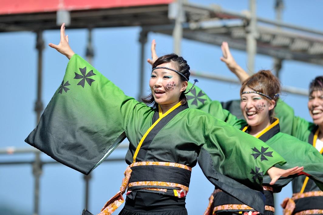 潮風よさこい「静岡大学お茶ノ子祭々」_f0184198_2232816.jpg