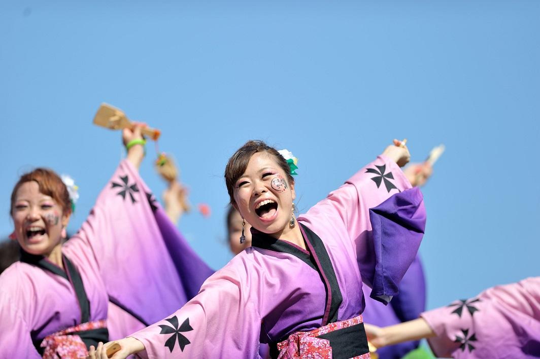 潮風よさこい「静岡大学お茶ノ子祭々」_f0184198_2234140.jpg