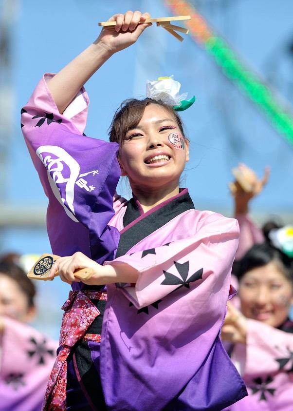 潮風よさこい「静岡大学お茶ノ子祭々」_f0184198_2234963.jpg