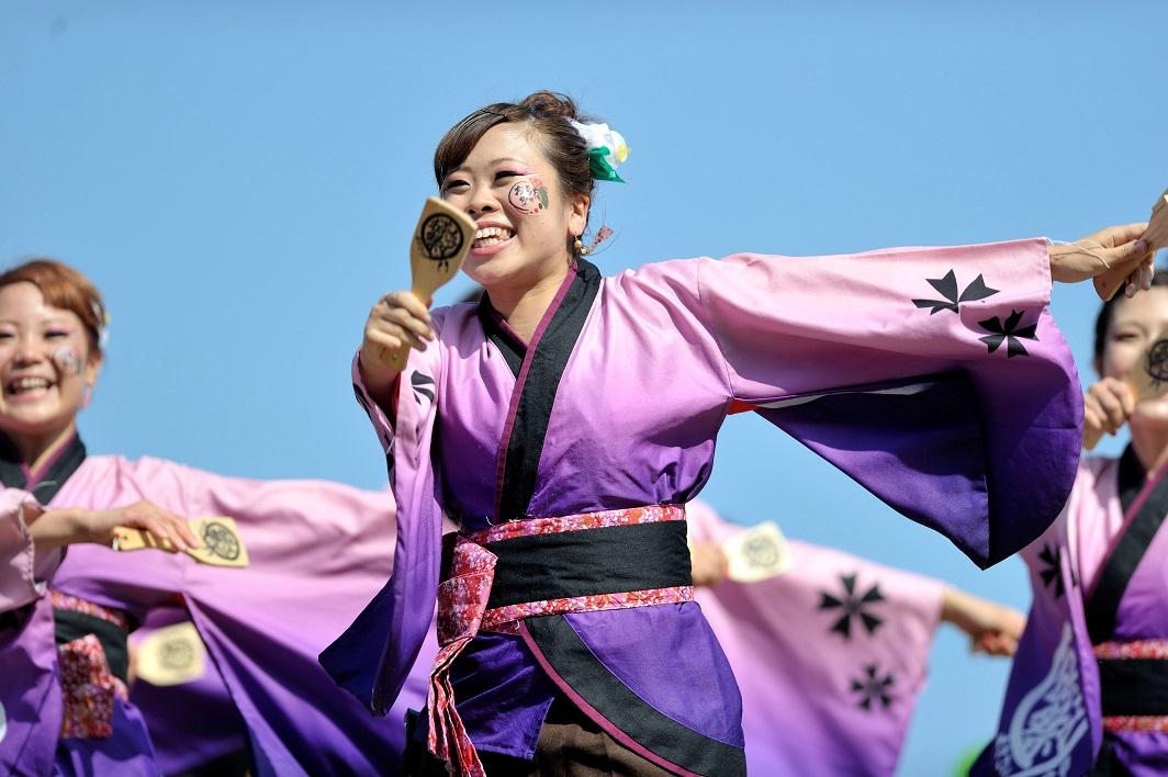 潮風よさこい「静岡大学お茶ノ子祭々」_f0184198_2235499.jpg