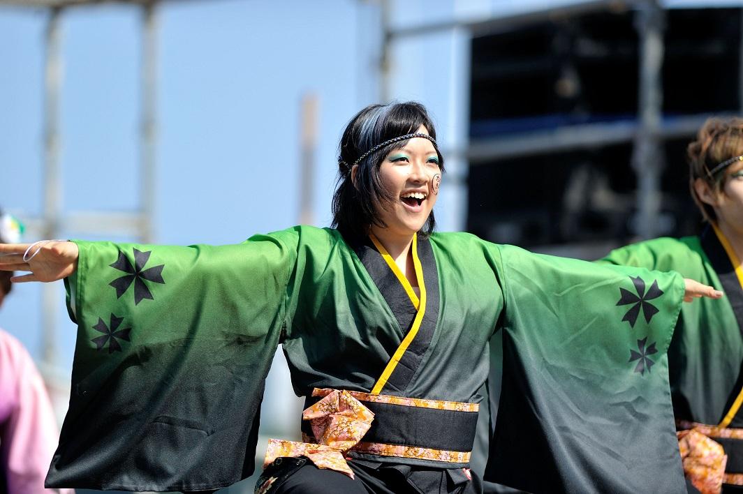 潮風よさこい「静岡大学お茶ノ子祭々」_f0184198_2241188.jpg