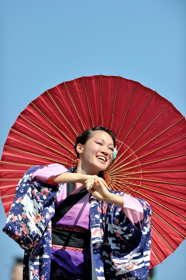 潮風よさこい「静岡大学お茶ノ子祭々」_f0184198_2242413.jpg