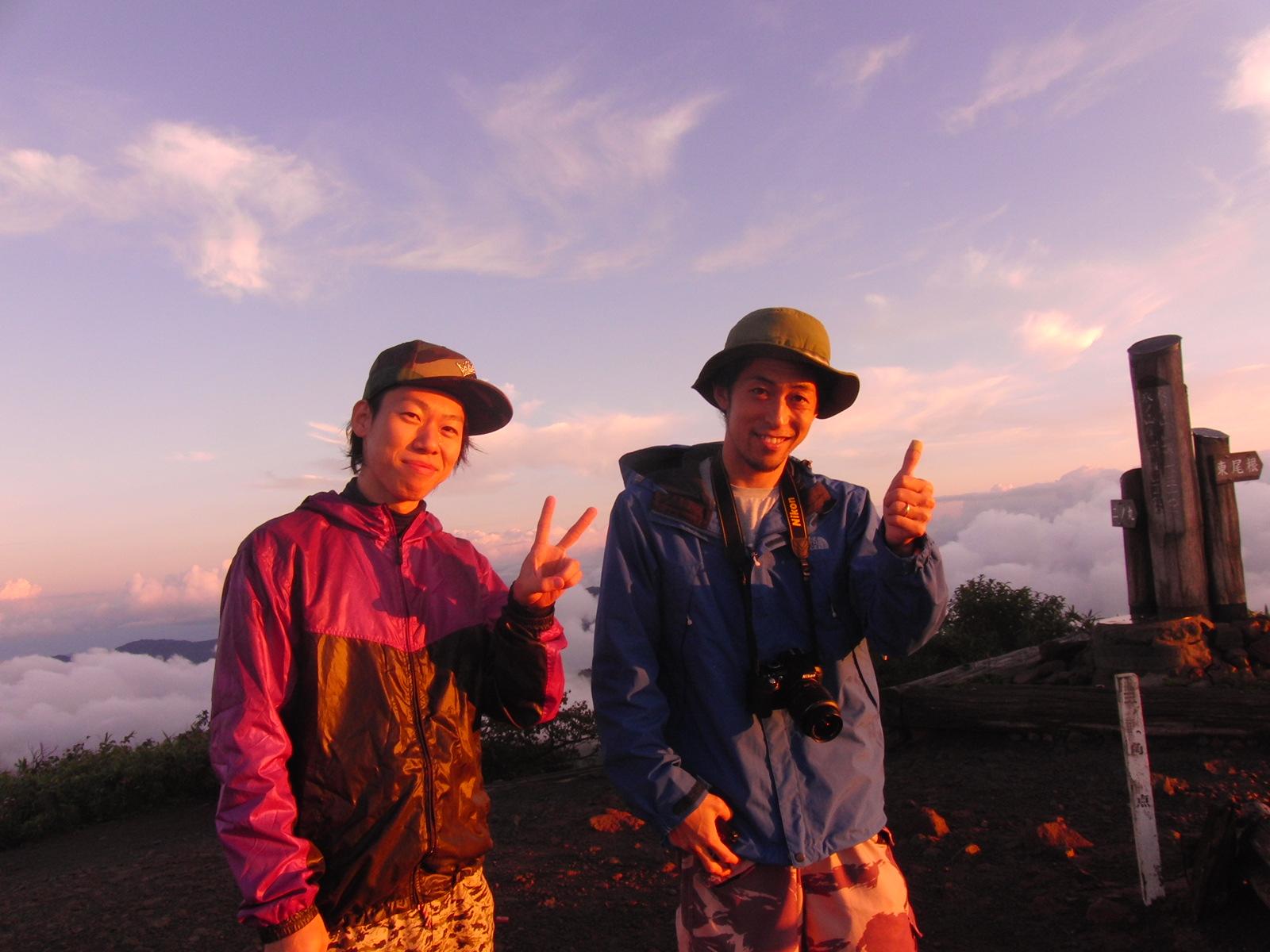 奇跡の氷ノ山ご来光ツアー 2013 9/9_f0101226_21303474.jpg