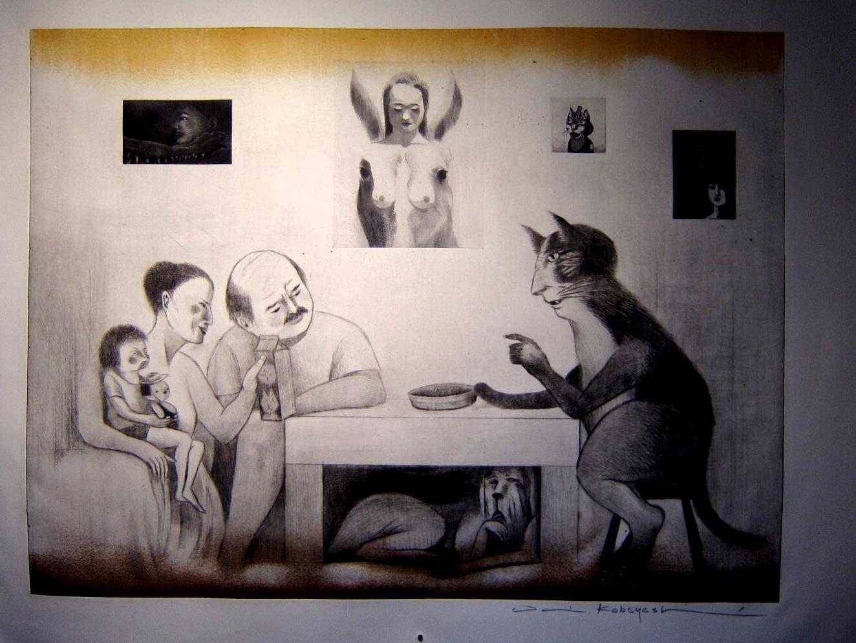 2193) 「小林大 展 『斑』 (銅版画とインスタレーション)」 g.犬養 8月28日(水)~9月9日(月)_f0126829_1375533.jpg