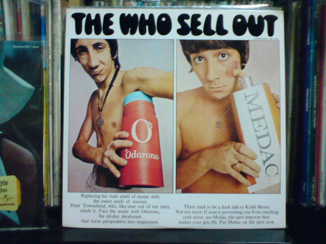 The Who Sell Out / The Who_c0104445_23244527.jpg