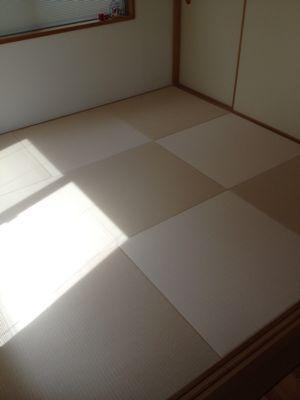 世田谷区上北沢/琉球畳施工例&日記_b0142750_1394026.jpg