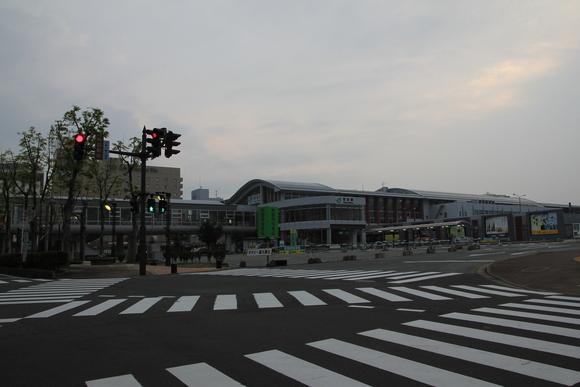 秋田駅の朝!_d0202264_5143798.jpg