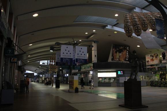 秋田駅の朝!_d0202264_5274845.jpg