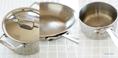 All-Clad stainless-steel pans  オールクラッドのお鍋_e0253364_1675089.jpg
