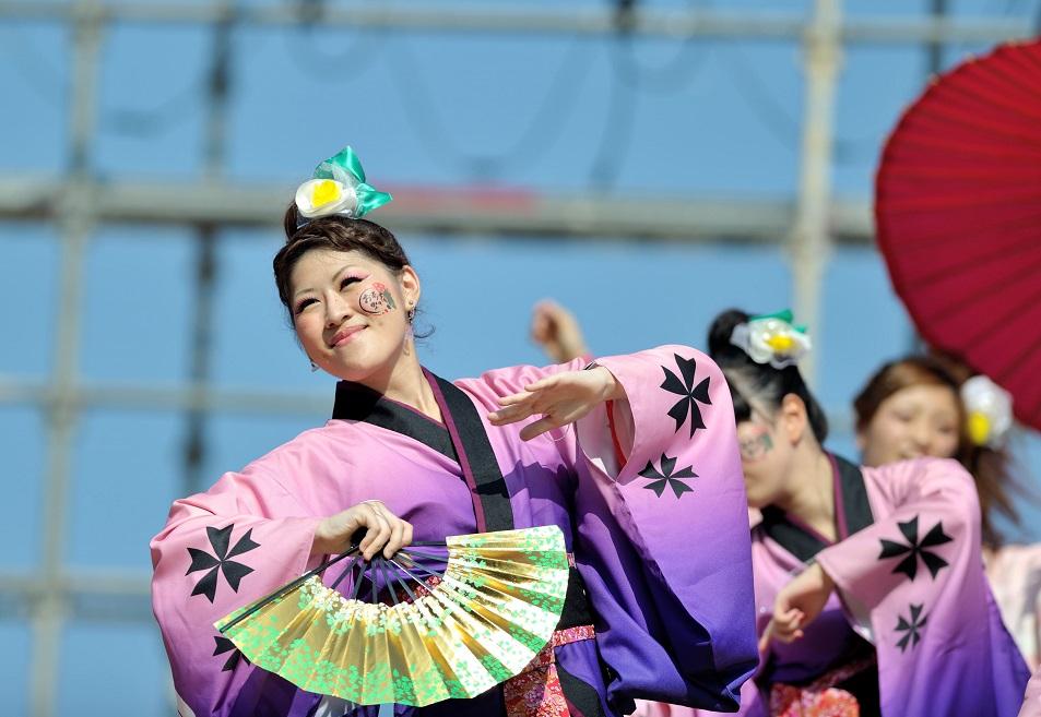 第11回潮風よさこい「静岡大学 お茶ノ子祭々」_f0184198_21562587.jpg