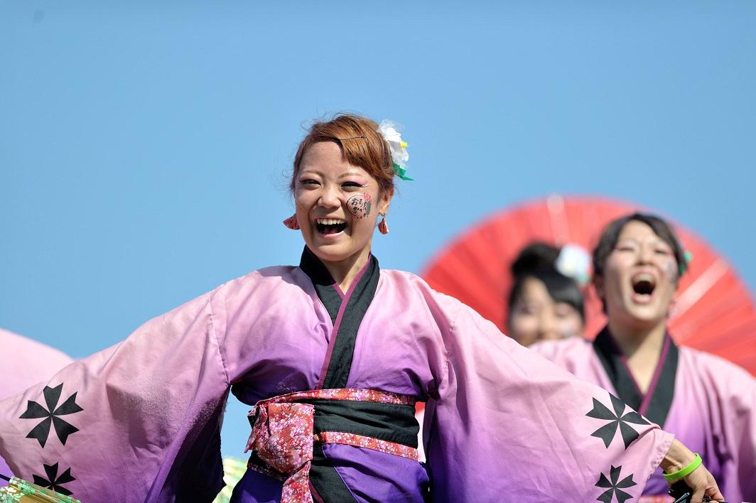 第11回潮風よさこい「静岡大学 お茶ノ子祭々」_f0184198_21564299.jpg