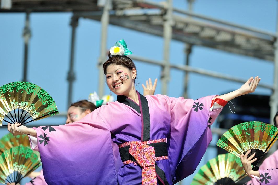 第11回潮風よさこい「静岡大学 お茶ノ子祭々」_f0184198_2156579.jpg