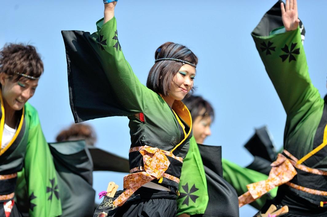 第11回潮風よさこい「静岡大学 お茶ノ子祭々」_f0184198_2156950.jpg