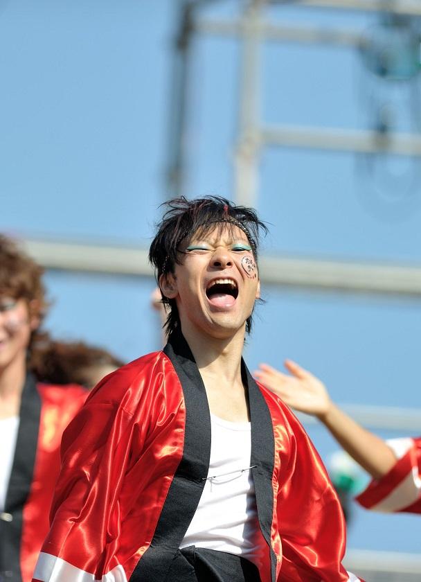 第11回潮風よさこい「静岡大学 お茶ノ子祭々」_f0184198_21573190.jpg