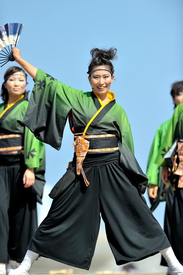 第11回潮風よさこい「静岡大学 お茶ノ子祭々」_f0184198_2157347.jpg