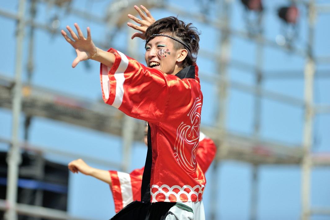第11回潮風よさこい「静岡大学 お茶ノ子祭々」_f0184198_21574754.jpg