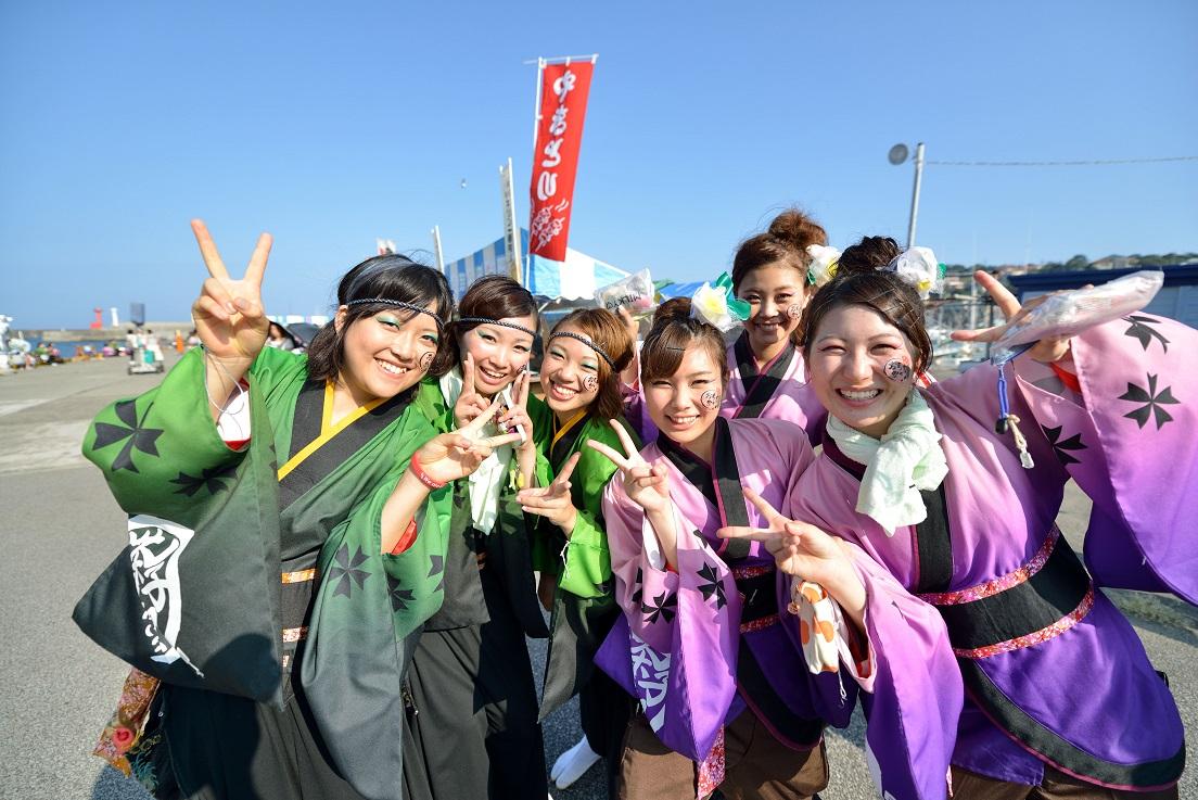 第11回潮風よさこい「静岡大学 お茶ノ子祭々」_f0184198_21582494.jpg
