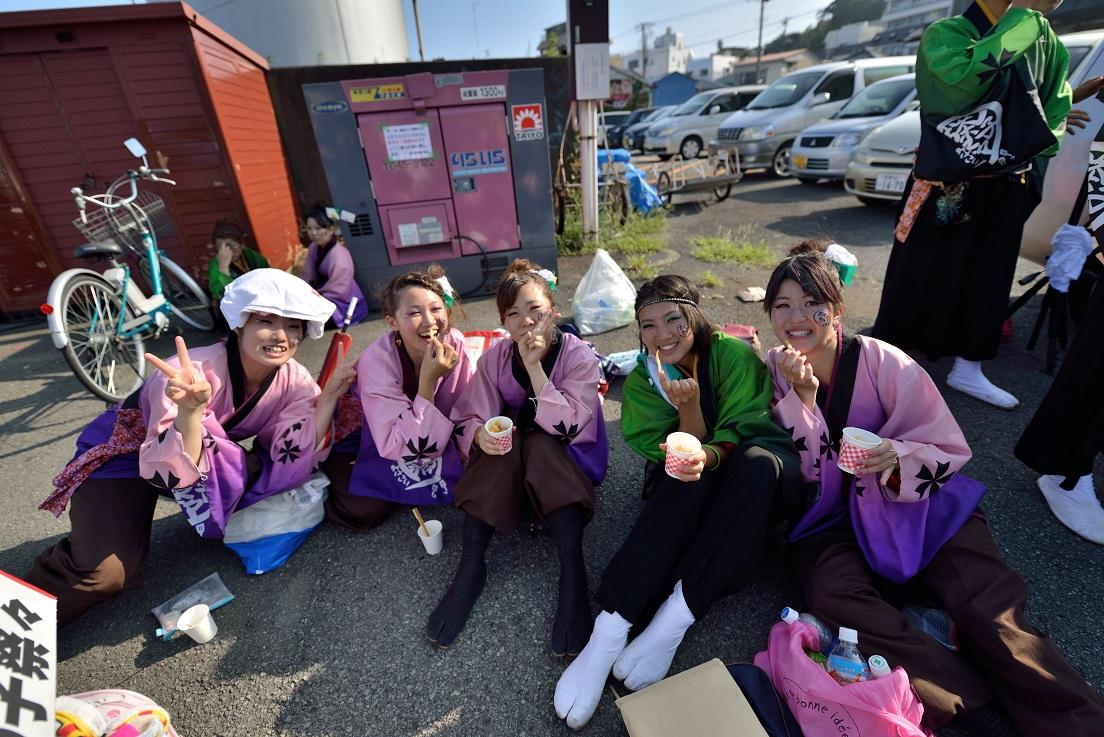 第11回潮風よさこい「静岡大学 お茶ノ子祭々」_f0184198_2158310.jpg