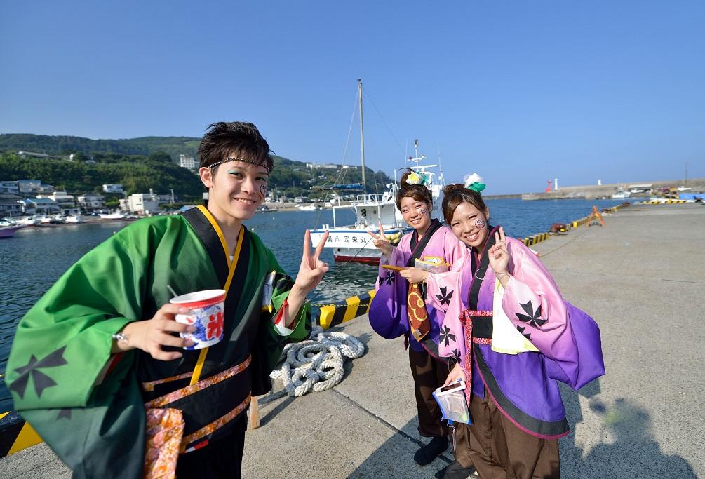 第11回潮風よさこい「静岡大学 お茶ノ子祭々」_f0184198_21583453.jpg