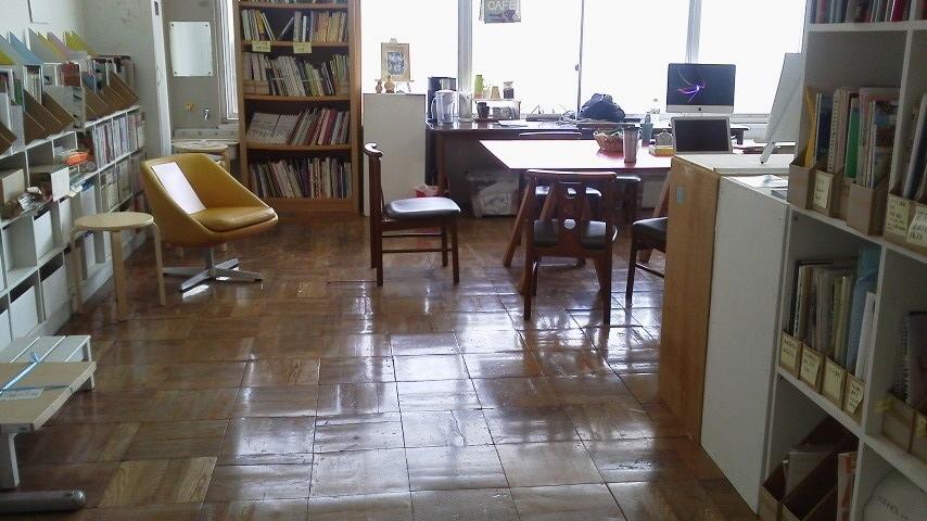 アーカススタジオ、もりや学びの里に戻る/レジデンスプログラム開始の巻_a0216706_1639416.jpg