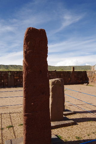 ボリビアの旅(42) 【世界遺産】 ティワナク遺跡 TIWANAKU_c0011649_7445065.jpg