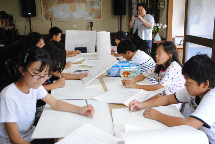 高柳小学校アートクラブ _c0267580_23342844.jpg