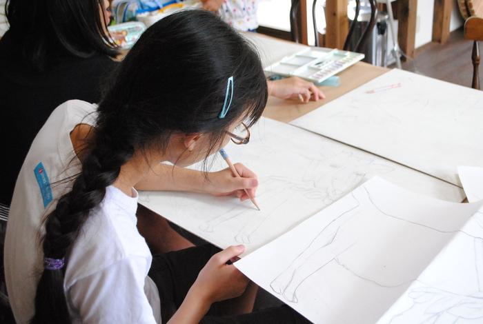高柳小学校アートクラブ _c0267580_23345278.jpg