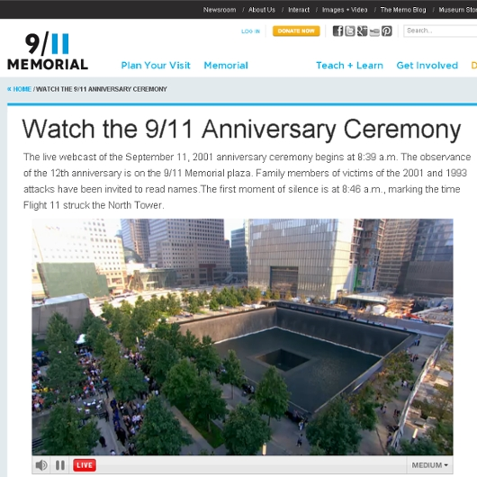 9/11の追悼式がはじまりました_b0007805_2140339.jpg