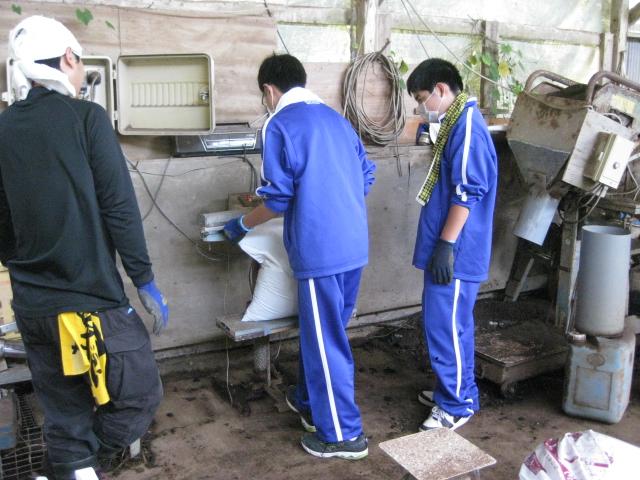 中学生の職場体験2校目 1日目_d0139806_1644593.jpg