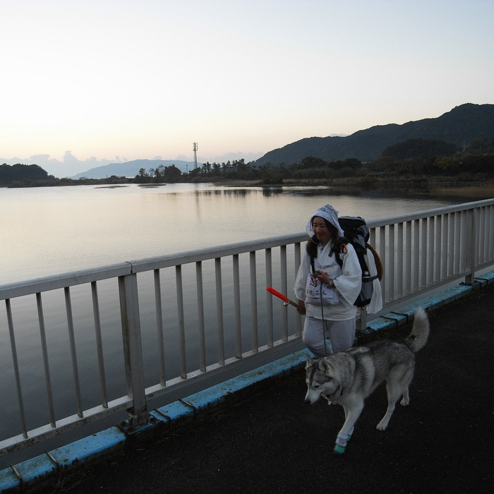 Memory of the second pilgrimage with husky HANA_c0049299_19465173.jpg