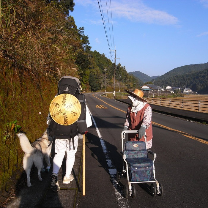 Memory of the second pilgrimage with husky HANA_c0049299_19493912.jpg
