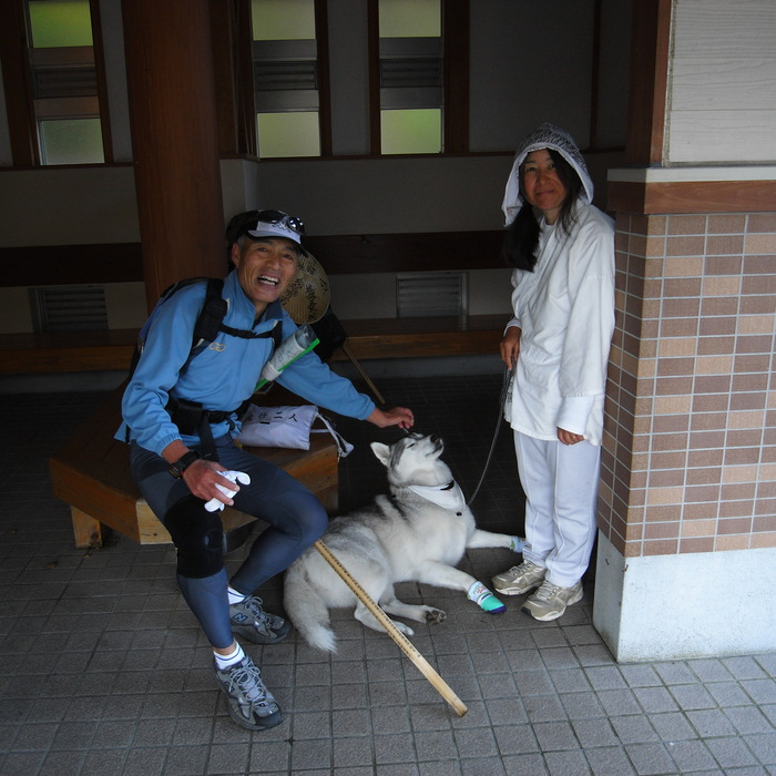 Memory of the second pilgrimage with husky HANA_c0049299_1955542.jpg