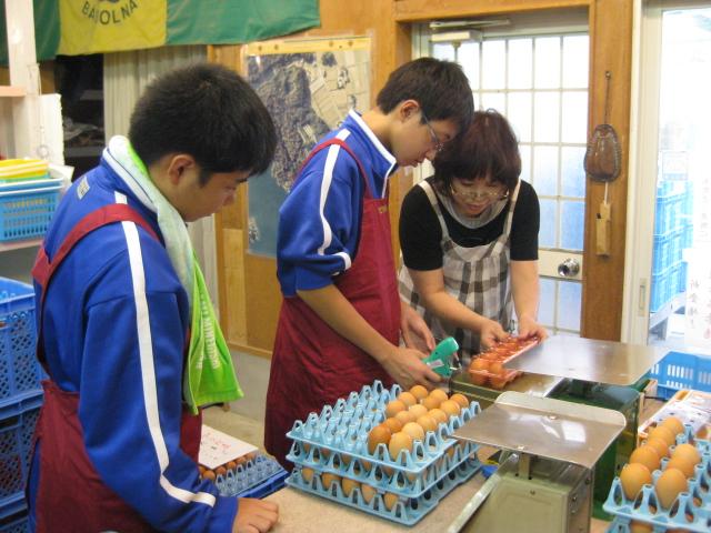 中学生の職場体験2校目 2日目_d0139806_19584454.jpg