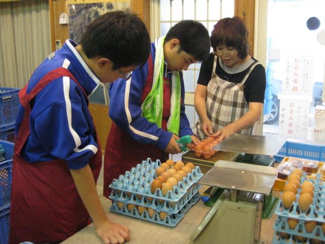 中学生の職場体験2校目 2日目_d0139806_19585937.jpg