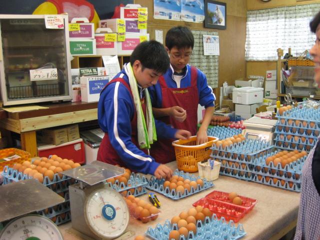 中学生の職場体験2校目 2日目_d0139806_2004986.jpg