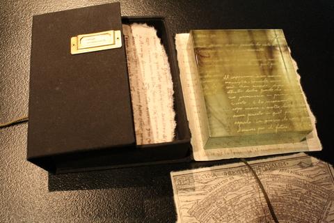 松原幸子ガラス展 Dへの手紙  「手紙」6作品_a0260022_203124.jpg