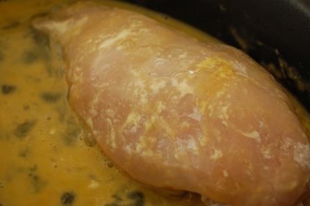 鶏胸肉でとろ~り【チーズマスタードカツ☆】_d0104926_16484263.jpg
