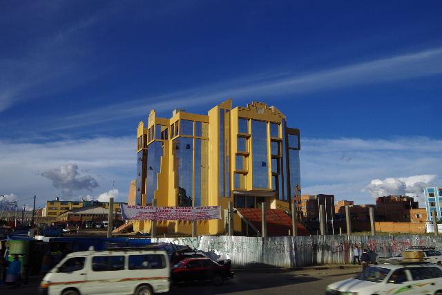 ボリビアの旅(44) ラパスのホテル・エウロパ EUROPAへ_c0011649_23154056.jpg