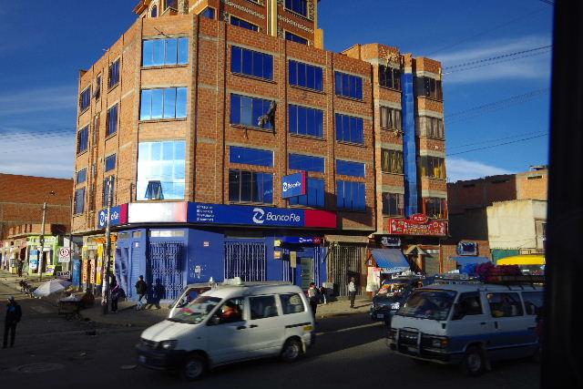 ボリビアの旅(44) ラパスのホテル・エウロパ EUROPAへ_c0011649_231616.jpg
