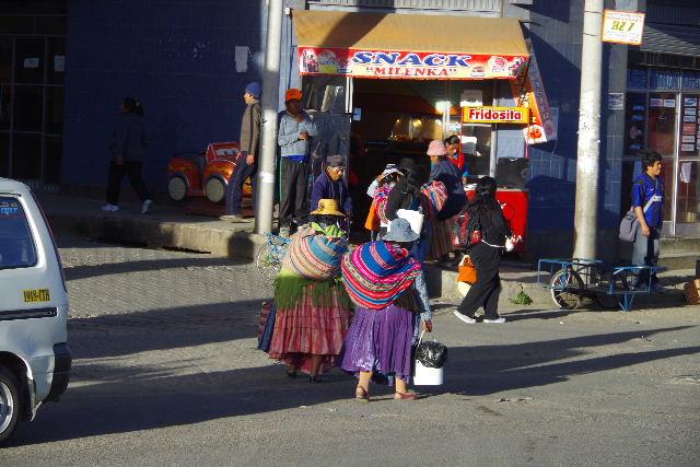 ボリビアの旅(44) ラパスのホテル・エウロパ EUROPAへ_c0011649_23162672.jpg