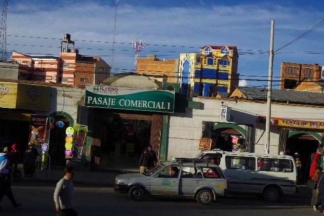ボリビアの旅(44) ラパスのホテル・エウロパ EUROPAへ_c0011649_23173676.jpg