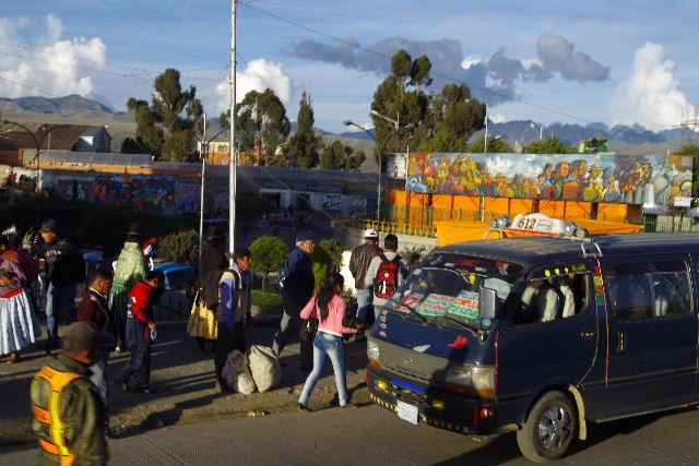 ボリビアの旅(44) ラパスのホテル・エウロパ EUROPAへ_c0011649_23175440.jpg