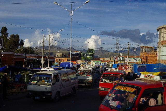 ボリビアの旅(44) ラパスのホテル・エウロパ EUROPAへ_c0011649_23182977.jpg