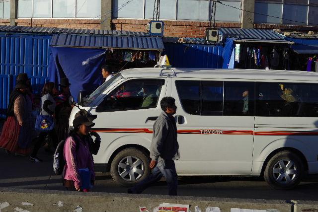 ボリビアの旅(44) ラパスのホテル・エウロパ EUROPAへ_c0011649_23184563.jpg