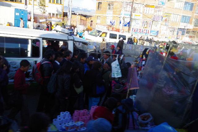 ボリビアの旅(44) ラパスのホテル・エウロパ EUROPAへ_c0011649_23192037.jpg