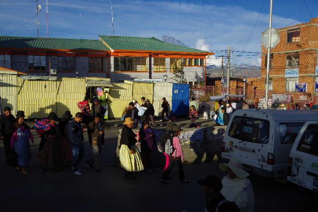 ボリビアの旅(44) ラパスのホテル・エウロパ EUROPAへ_c0011649_2319468.jpg