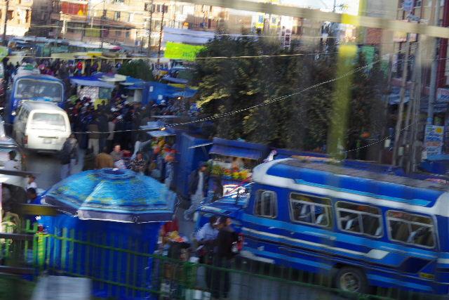ボリビアの旅(44) ラパスのホテル・エウロパ EUROPAへ_c0011649_23195219.jpg