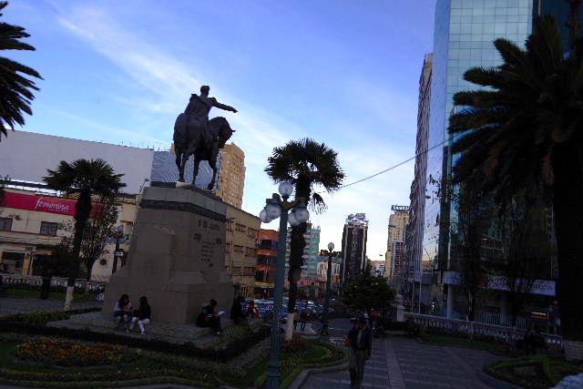 ボリビアの旅(44) ラパスのホテル・エウロパ EUROPAへ_c0011649_23391293.jpg